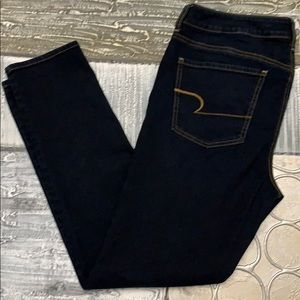 American Eagle Stretch jeggings- 14